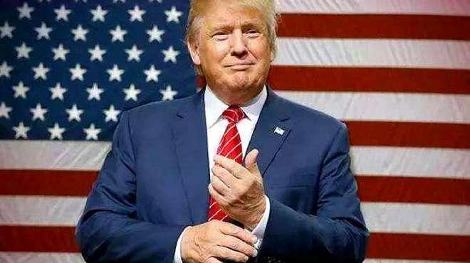 特朗普承诺大选后权力和平过渡