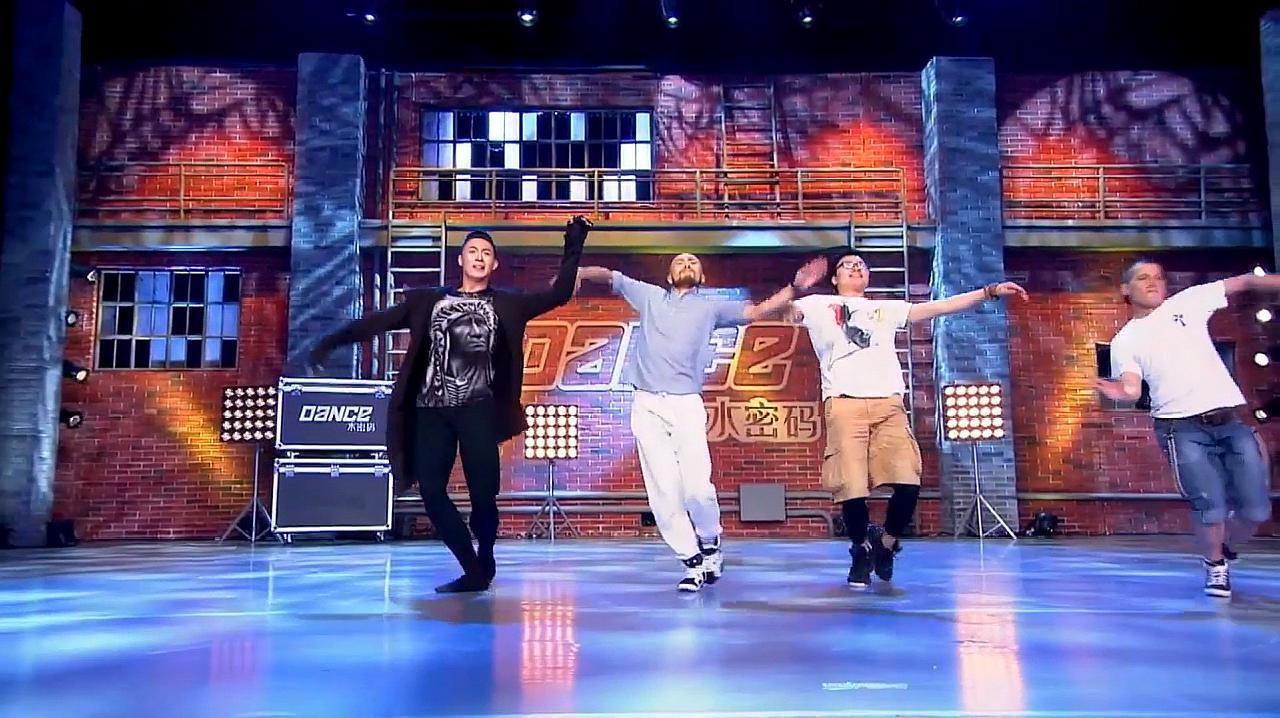 中国好舞蹈:草原4兄弟相遇好舞蹈,跳豪放蒙古舞,精彩好看