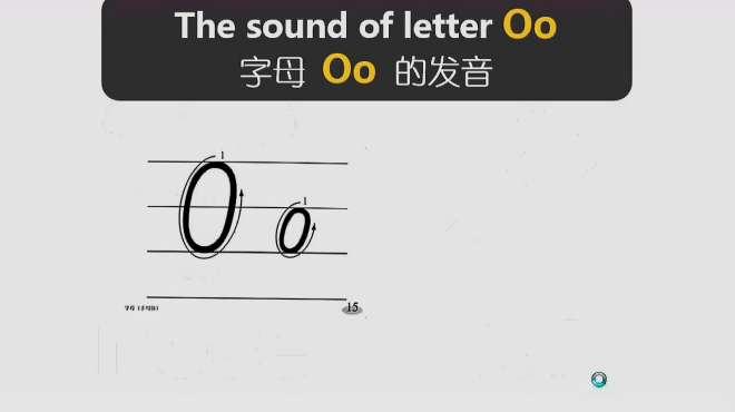 三分钟学英语快速记忆单词,19讲英文字母O在单词中的发音