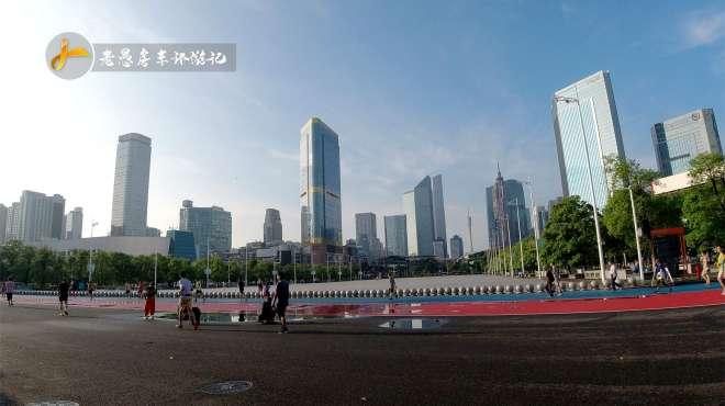 广州天河体育馆,小蛮腰近在咫尺,有水的地方就能吸引摄影师