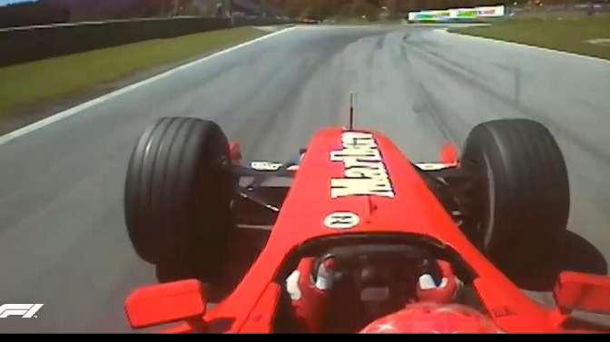说车:七冠王舒马赫,生涯惊险刺激五大瞬间,最后超车看谁先怂