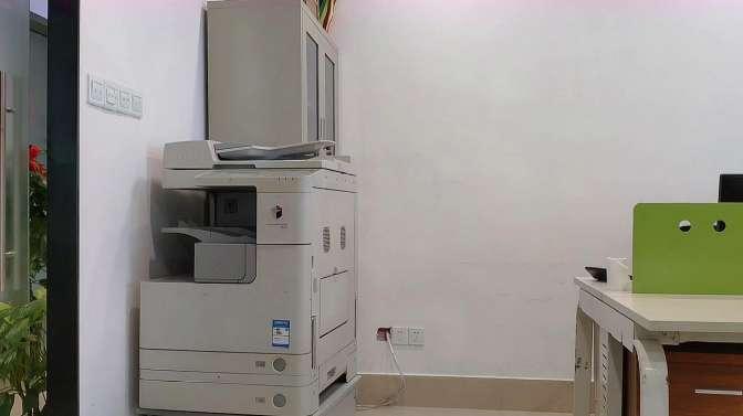 复印机打印黑,知道原理维修起来就很简单