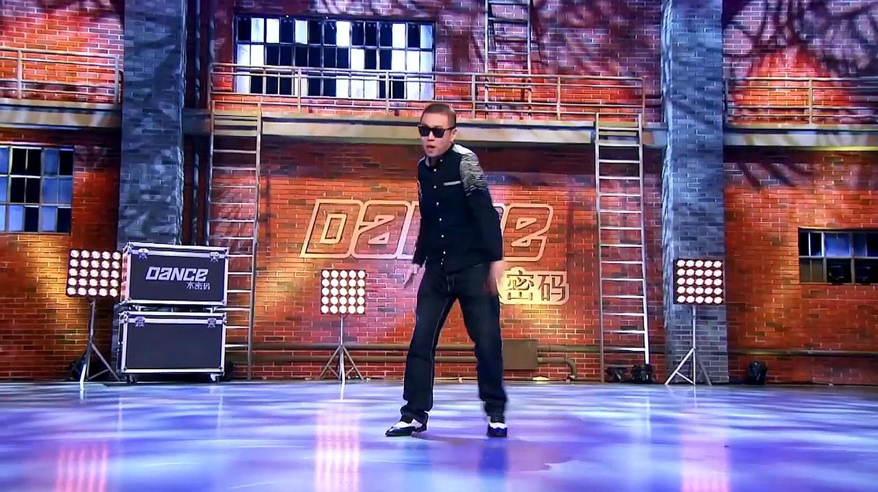 中国好舞蹈:观众席上失明小伙受邀,上台表演街舞,震惊全场