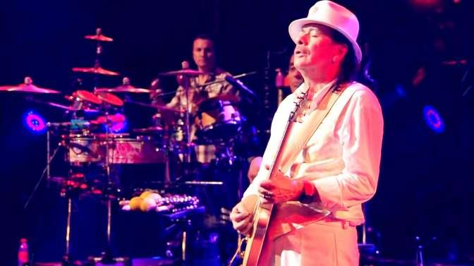 世界排名第20吉他大师Carlos Santana,一个音符就认出来的演奏家