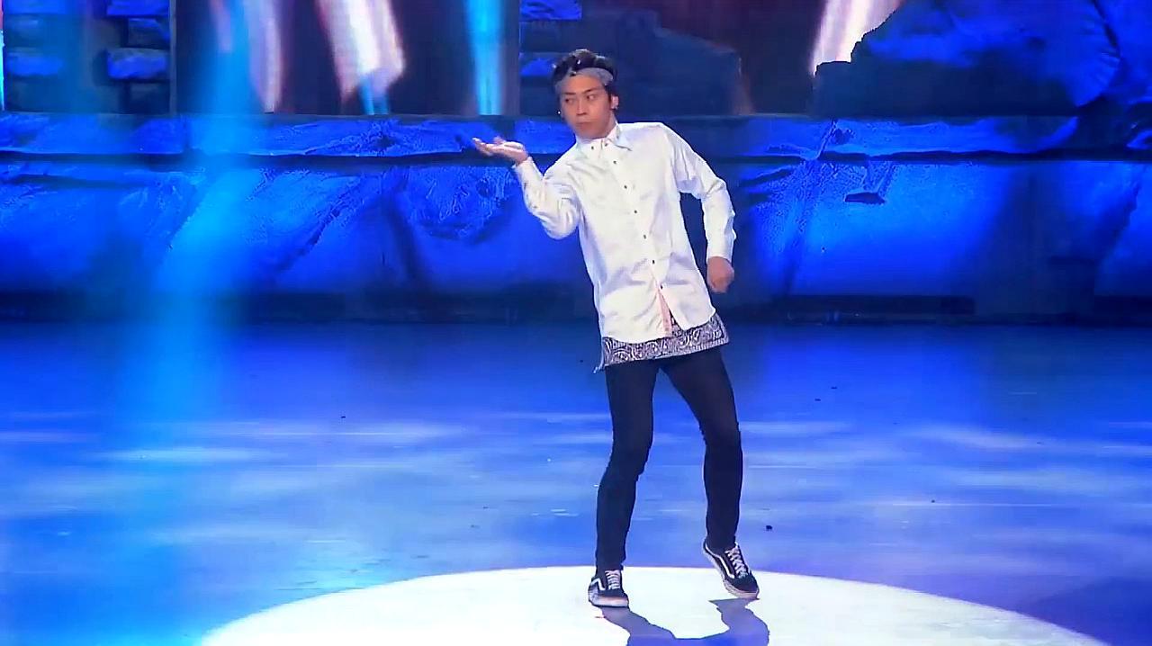 中国好舞蹈:好舞蹈学员对抗赛,三儿的街舞表演,金星称确实很好