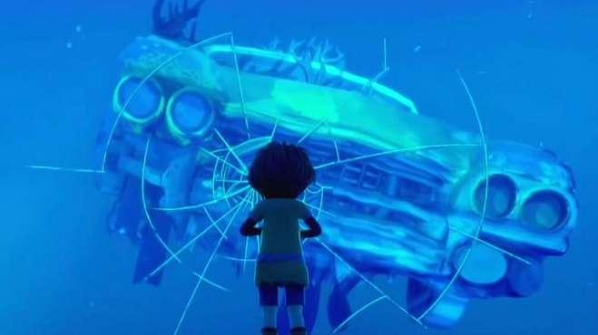人类争分夺秒探索,却只能活在海底玻璃箱,奇幻治愈动画