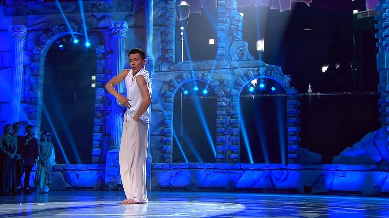 中国好舞蹈:金星团队学员赵磊,优美舞蹈表演,令观众惊讶
