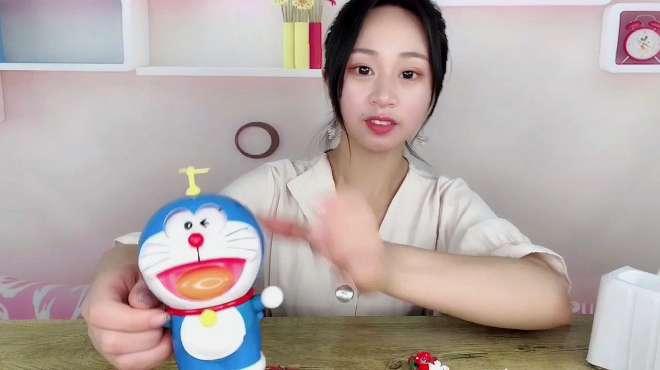 """试玩网红玩具""""哆啦A梦"""",口袋里有百变道具,还可以变脸!"""