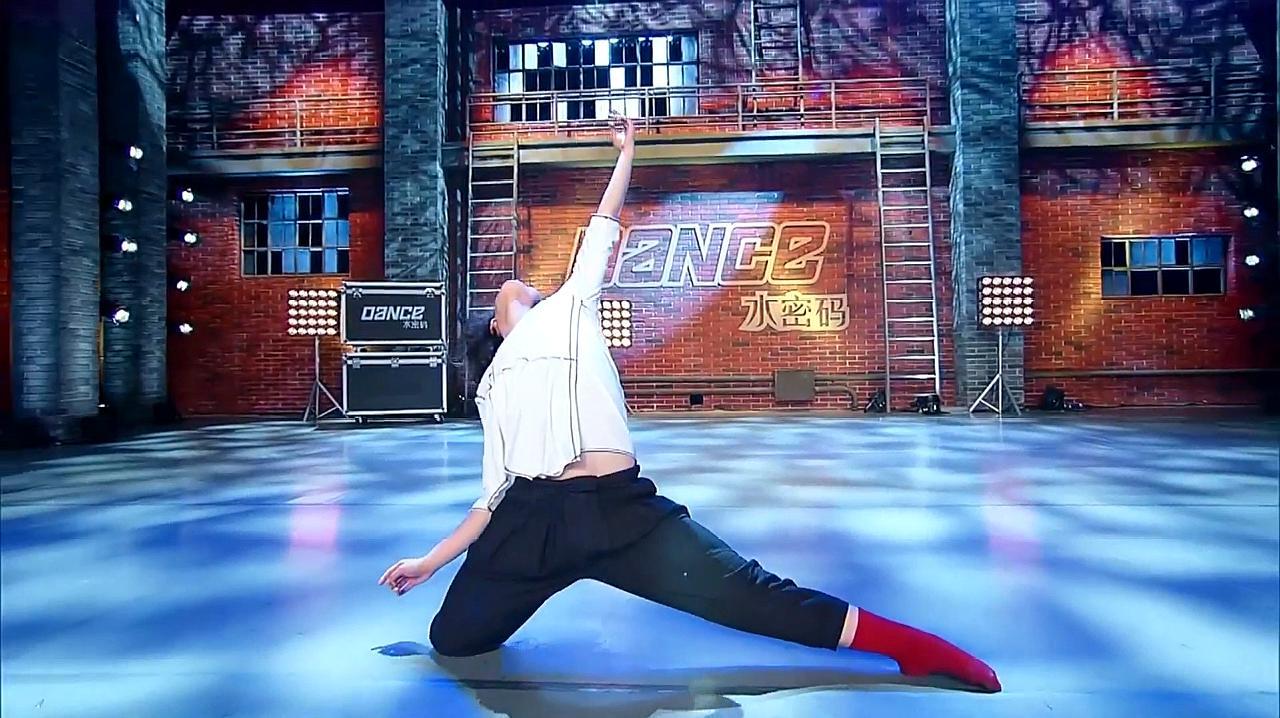 中国好舞蹈:24岁小伙上好舞蹈,刚柔并济舞蹈表演,惊艳全场