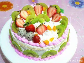 自己在家如何做奶油生日蛋糕?