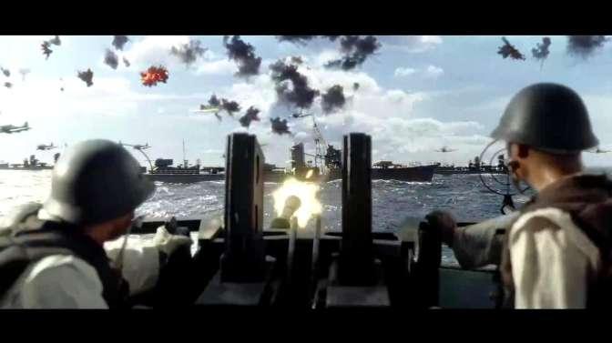 中途岛海战,二战期间最大规模航母大战,这场面真壮观