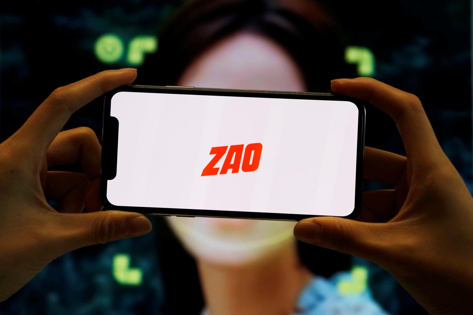 广受欢迎的AI换脸应用Zao引发了另一场隐私抗议