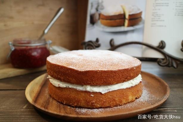 维多利亚女王最喜欢吃的海绵蛋糕,在家就能轻松做好
