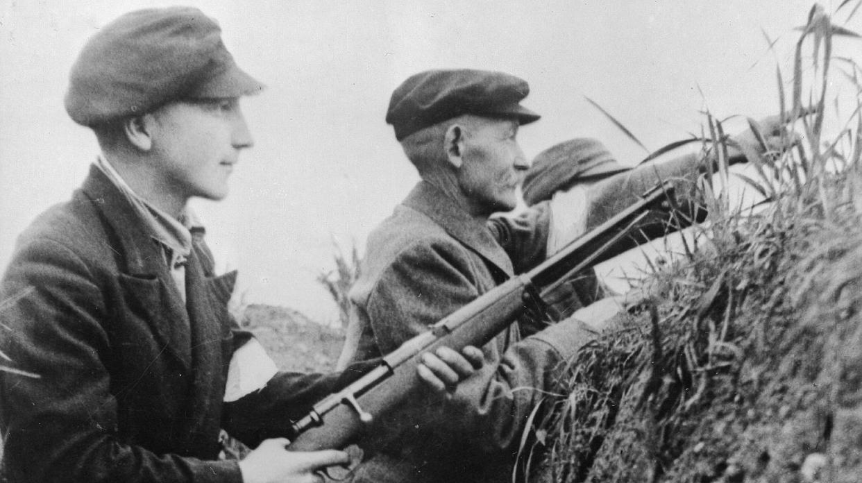 苏联铁甲洪流前的炮灰,二战末期的德国人民冲锋队