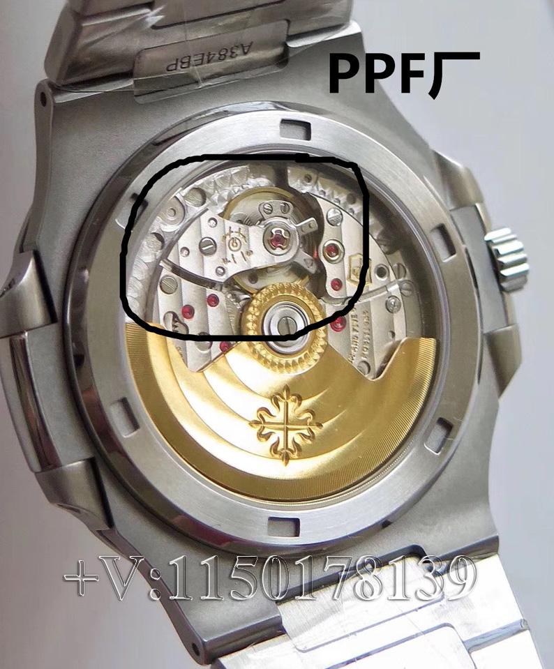 如何鉴别PPF厂百达翡丽鹦鹉螺是否对版?不被坑?