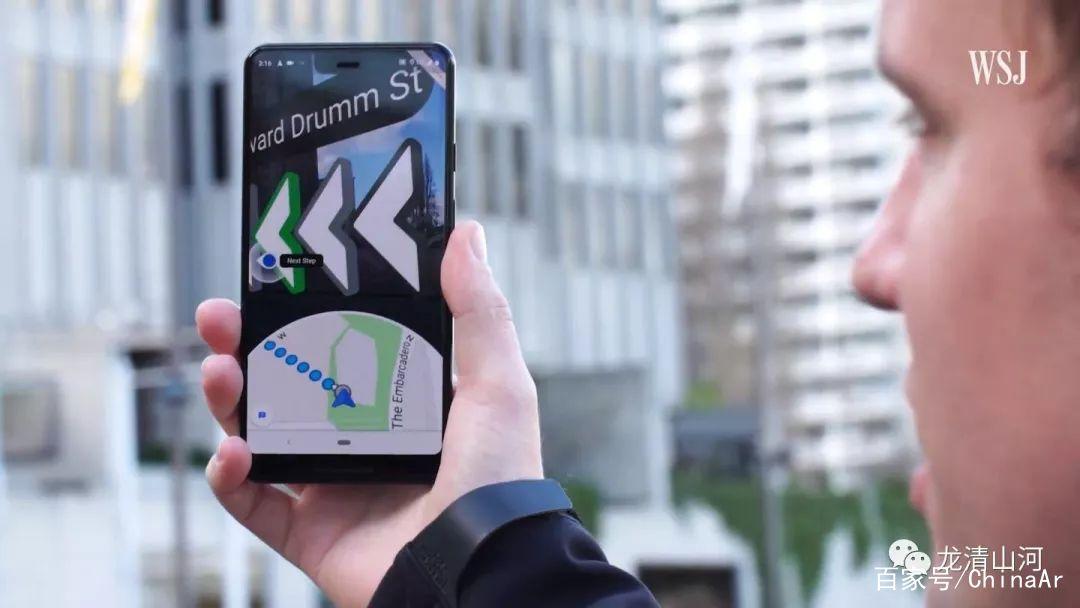Google地图AR导航Live View适用于iPhone和Android平台