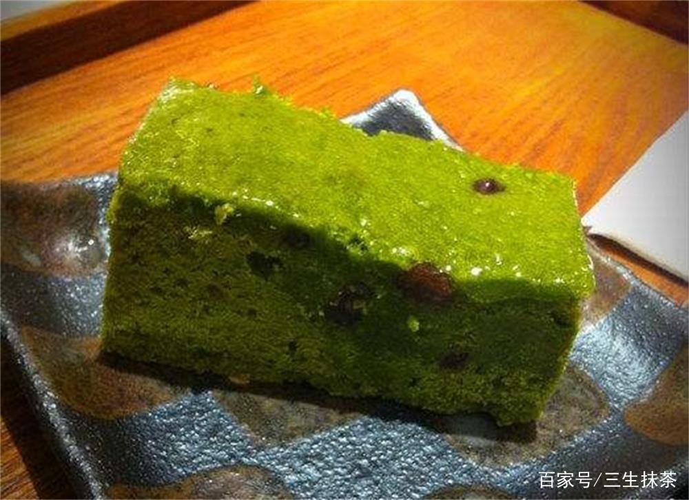 小抹茶爱分享:我这个特制布朗尼蛋糕是抹茶口味的,你吃过吗?