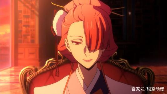 高清文豪野犬:美丽强大的尾崎红叶,和服加红伞,你喜欢她吗?