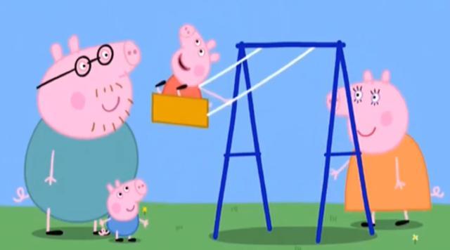 少儿英语教学——小猪佩奇英语知识点:The Playground