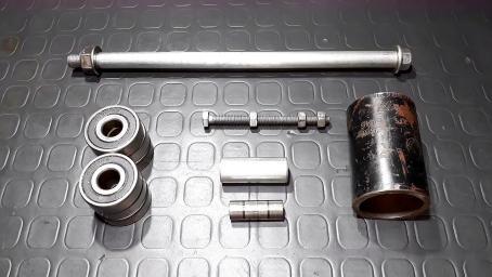 自制拆卸轴承的工具,简单又好用,看完我也做一个