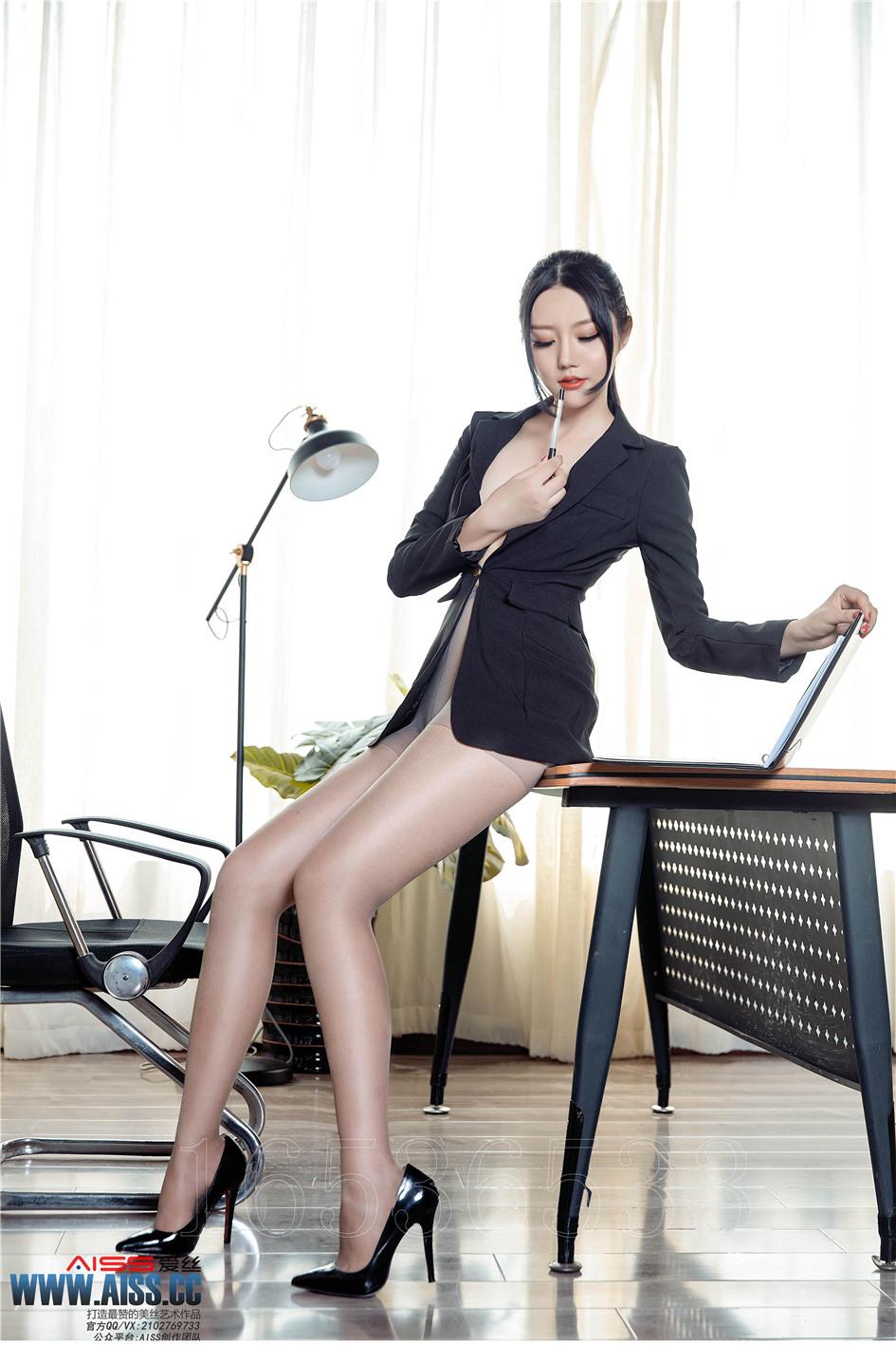 秘书办公室_[爱丝] 性感长腿丝袜女秘书办公室无内诱惑 第143期——乐多女人