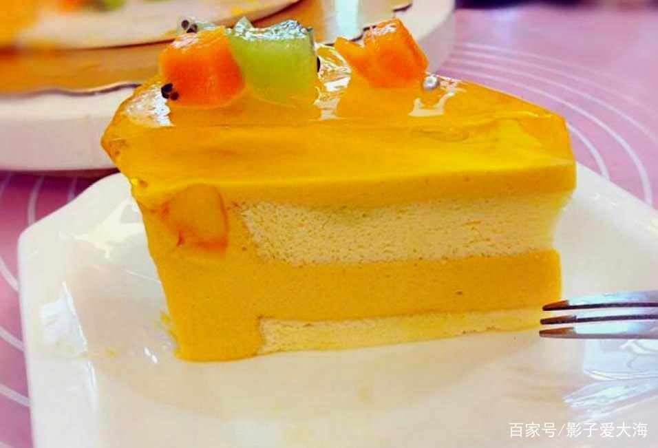 好吃不腻的芒果流心慕斯蛋糕,不尝试一下吗?
