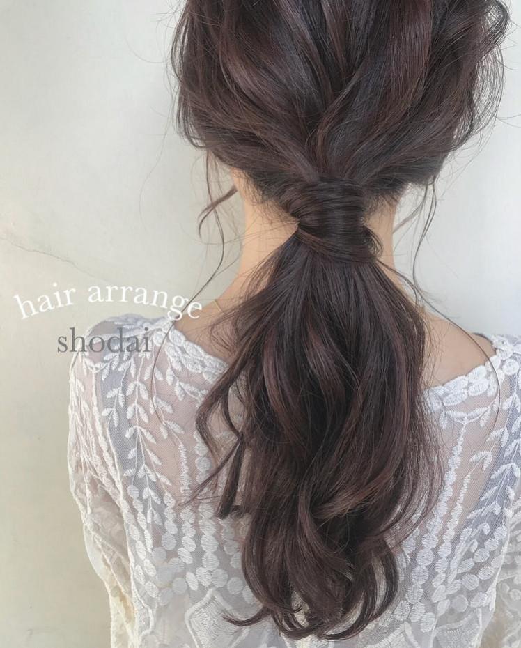 女性成熟马尾辫发型整理特辑