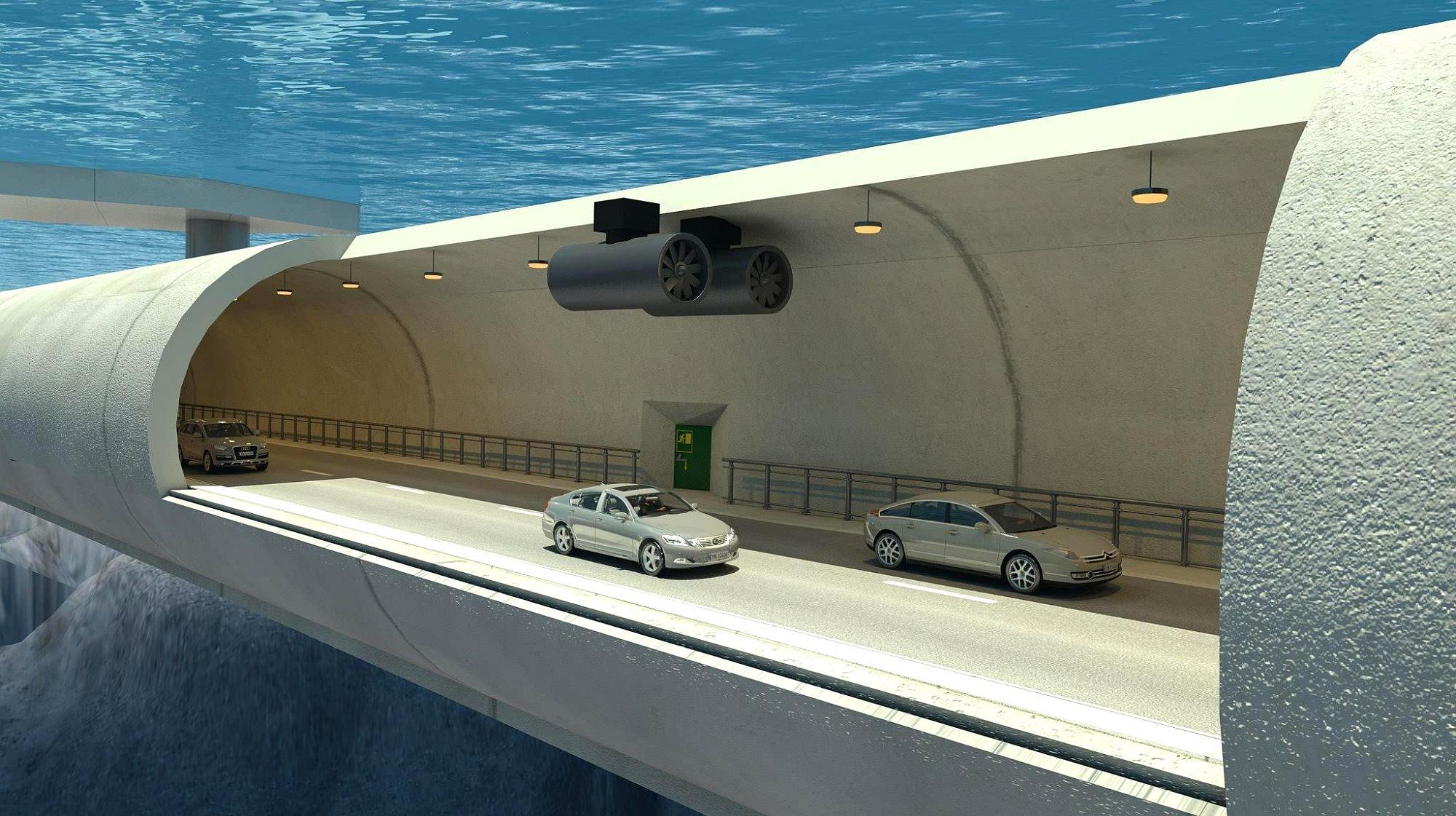 大海里面全是水,海底隧道是如何修建的?看完为我国技术感到自豪