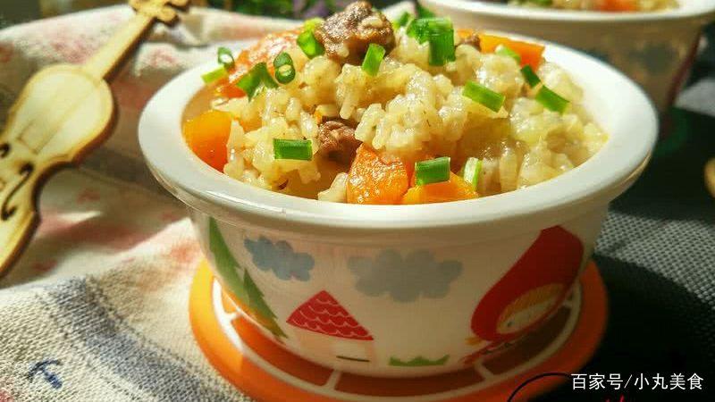 土豆牛肉焖饭的新做法