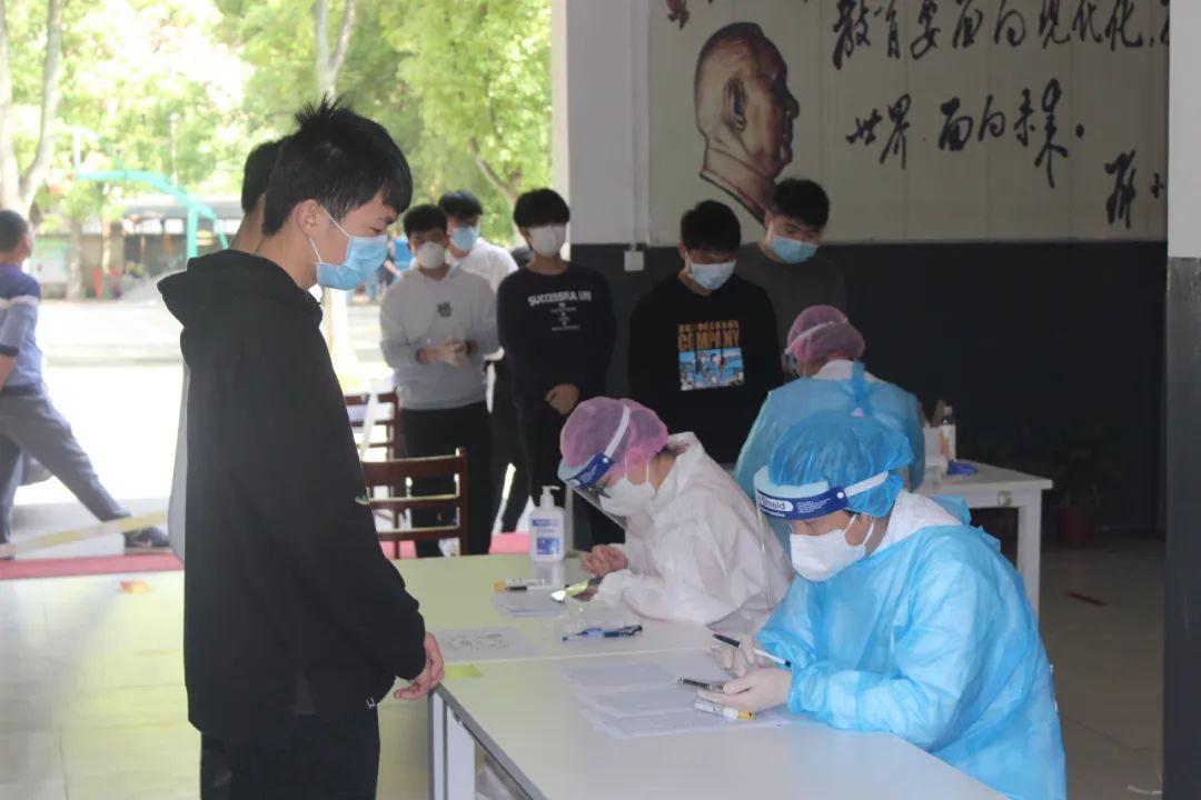 「健康体检」护航复学复课,华润武钢总医院助青山区全区高三学子安全