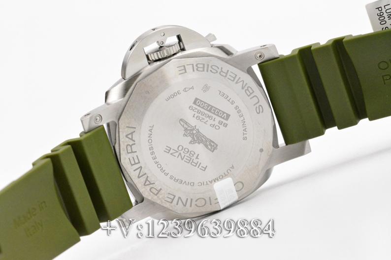 对比:VS厂沛纳海1055绿鬼王42mm,值不值得入手?插图9