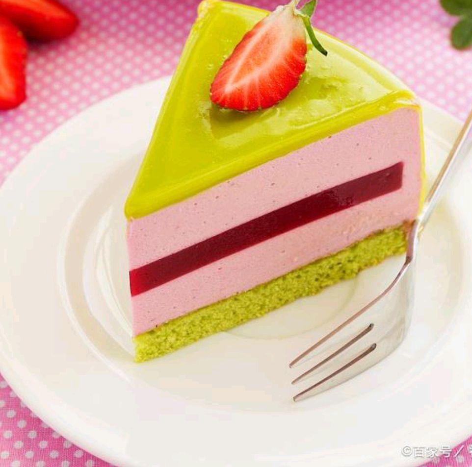 青提酸奶慕斯蛋糕配方教程!!