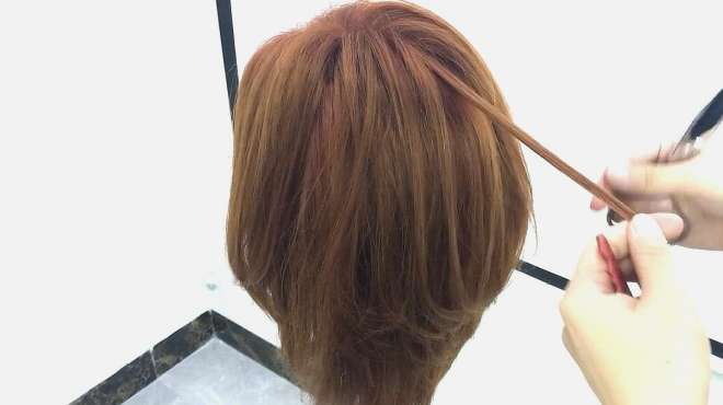 不长不短的网红中长发,修剪一点也不难,看完视频你就会了