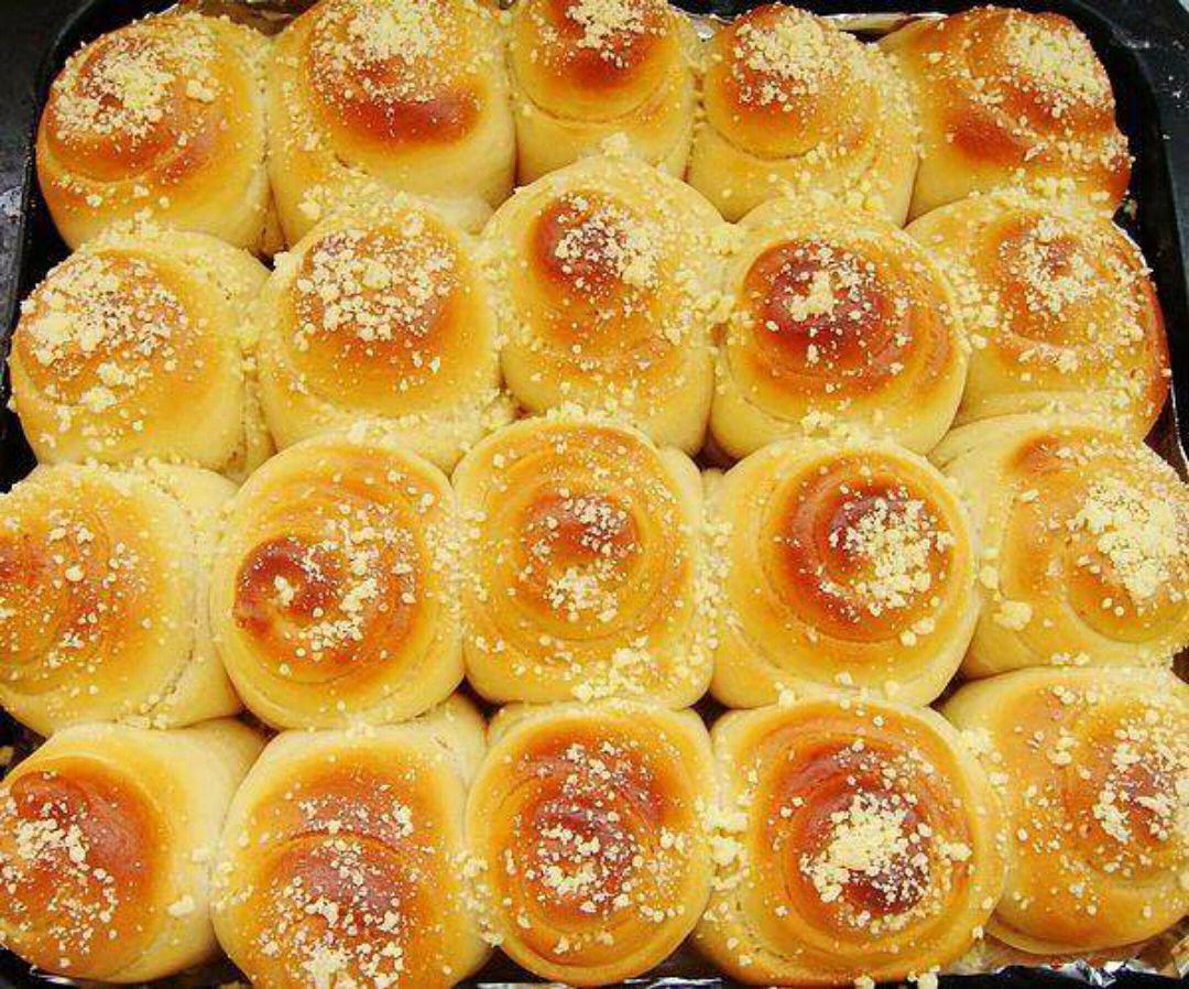 家常蜂蜜香酥面包的做法,简单易学