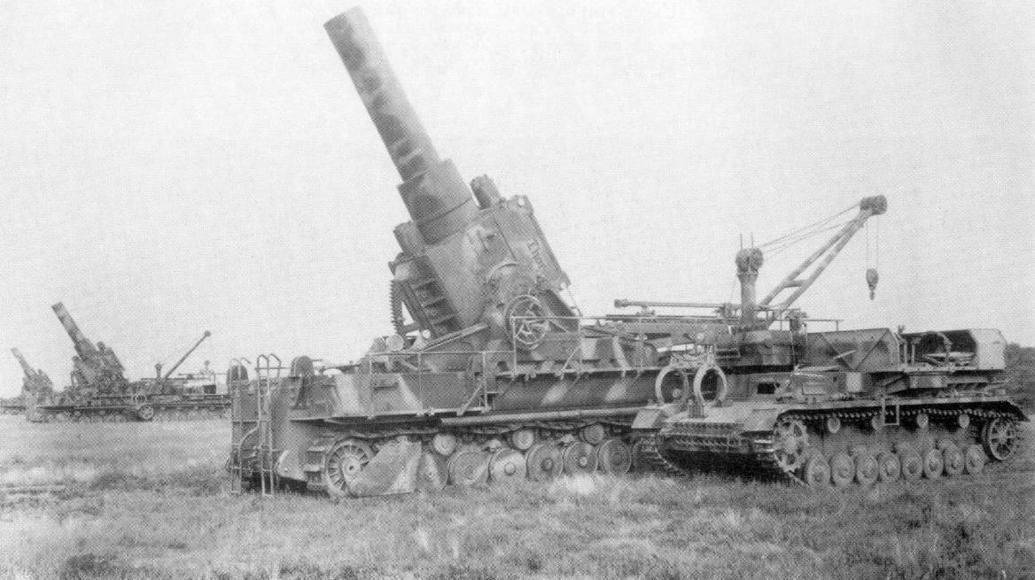 拆迁办的大锤,二战华沙起义期间的德国巨炮