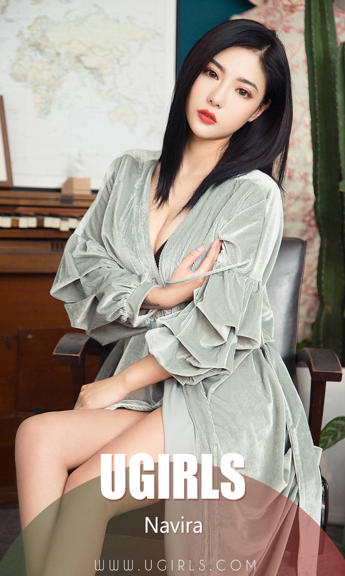 [Ugirls]爱尤物 No.1352 花容良人 Navir