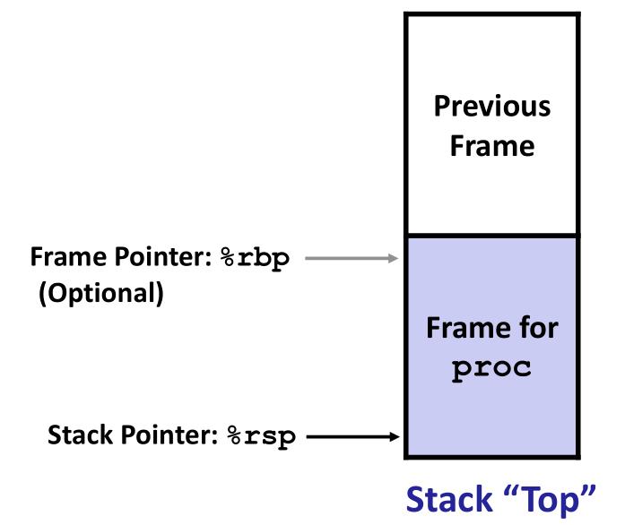 stack-frame