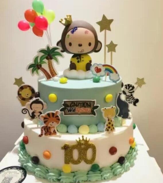 十二星座专属生日蛋糕,水瓶座超梦幻超浪漫,摩羯座很清新很漂亮