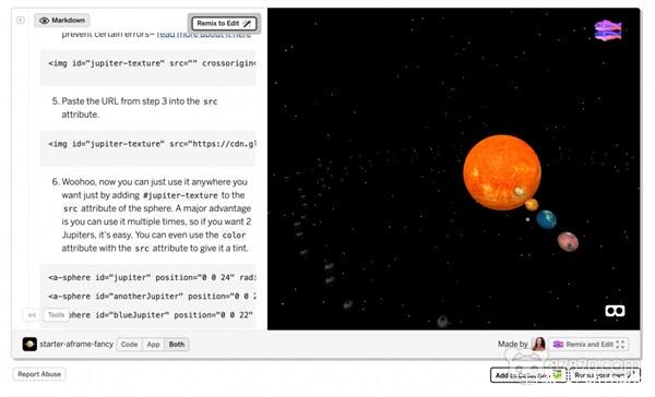 Glitch与Mozilla发布WebVR入门套件帮助建立VR网站 AR资讯