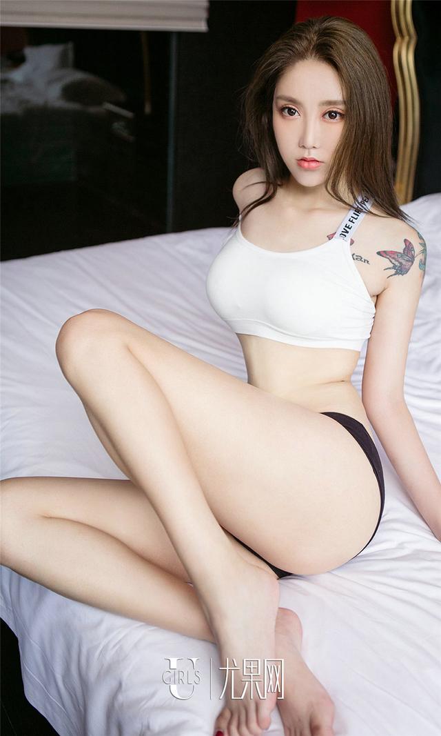 [尤果网] 惊艳中国美女彩儿丁字裤翘臀写真 第799期