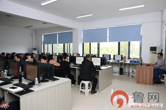 淄博市中等职业学校学生管理信息系统培训在机电工程学校举行