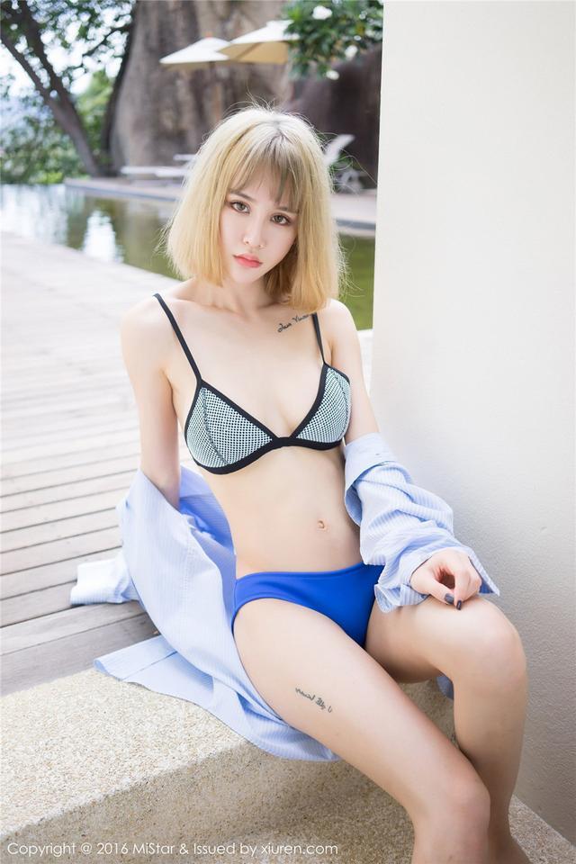 [魅妍社] 清纯养眼美女Cheryl青树户外泳衣秀 VOL.