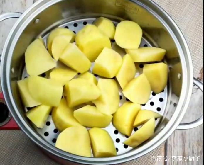 火山土豆泥怎么做好吃?关键都在酱上,秘制酱料,咸香适口