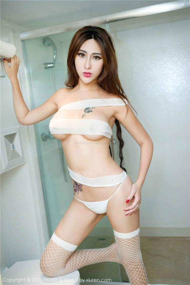 [魅妍社]FoxYini孟狐狸VOL.031网袜诱惑
