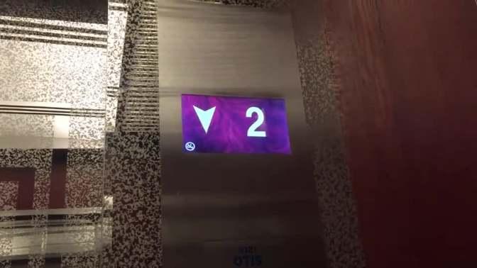 北京长峰假日酒店电梯间