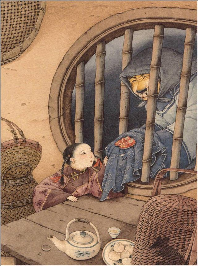 台湾儿童插画师王家珠,55岁依然童心未眠,《虎姑婆》享誉盛名