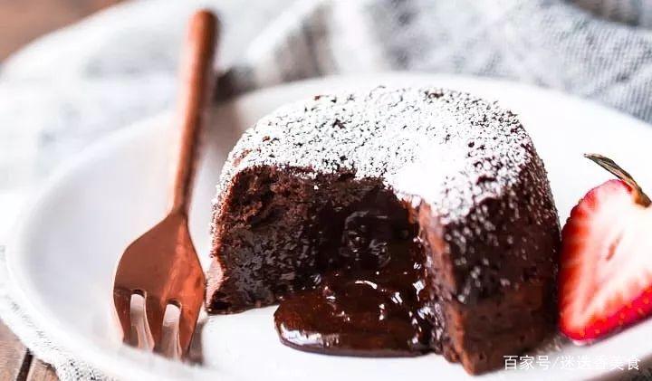 这样做的巧克力熔岩蛋糕,秒所有网红店!