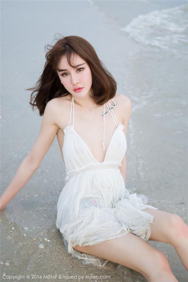 [魅妍社] 高清美乳美女Cheryl青树海边摄影图片 Vol