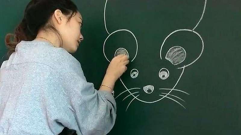 幼师画画总会让我意外,看到结局的那一刻,我真对她佩服了