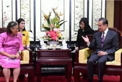 泰国诗琳通公主第48次访华,被誉为中泰友好使者